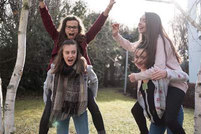 Les adolescents et l'amitié