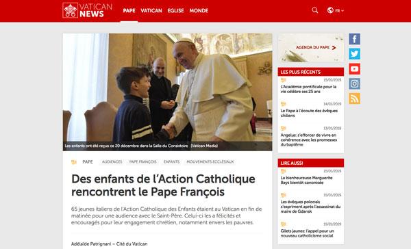 Article Vatican News