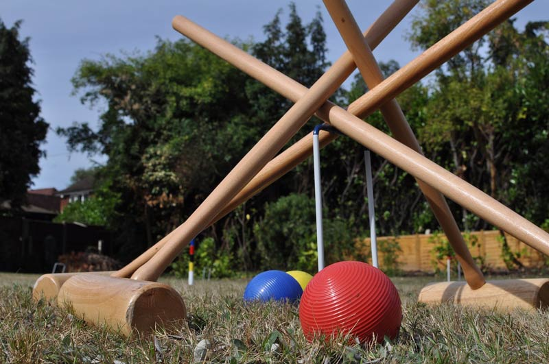 Jeux traditionnels de croquet