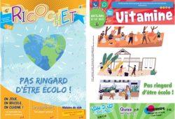 Revues pour enfants Ricochet et Vitamine