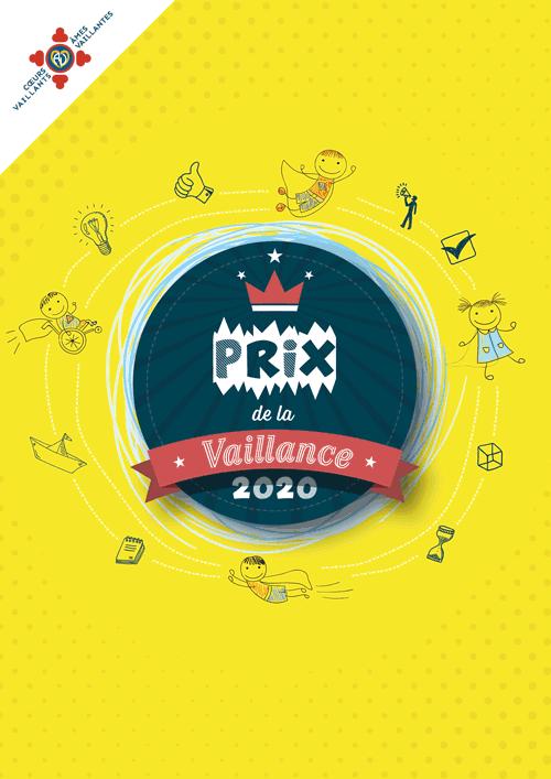 Affiche Prix de la vaillance 2020