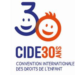 CIDE - Convention internationale des droits de l'enfant - logo des 30 ans en 2019