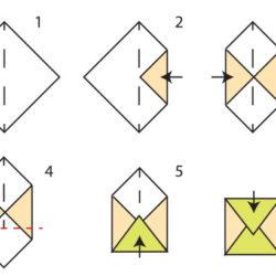 Construire une enveloppe rigolote - activité enfant