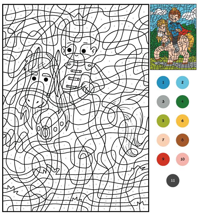 Coloriage magique - ACE