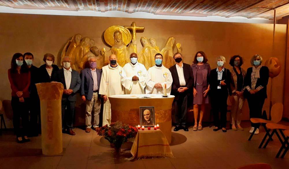 Père Gaston COURTOIS anniversaire ILM