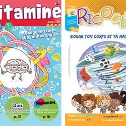 Revues vitamine 210 et ricochet 145 - Action Catholique des enfants