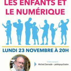 Conférence : les enfants et le numérique avec Michel Damade