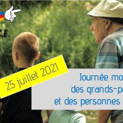 Journée mondiale des personnes âgées et des grands-parents