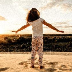 L'été au grand air pour les enfants. Psychopedagogie © jonathan borba