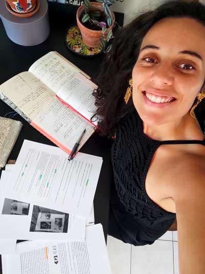 Carine Oumouchi compositrice de la nouvelle chanson de l'ACE